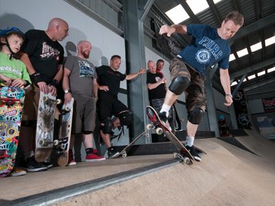 Skateboard Carousel 4