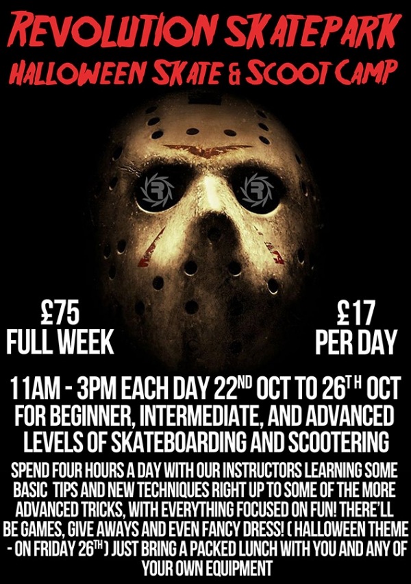 Skate & Scoot Camp - October