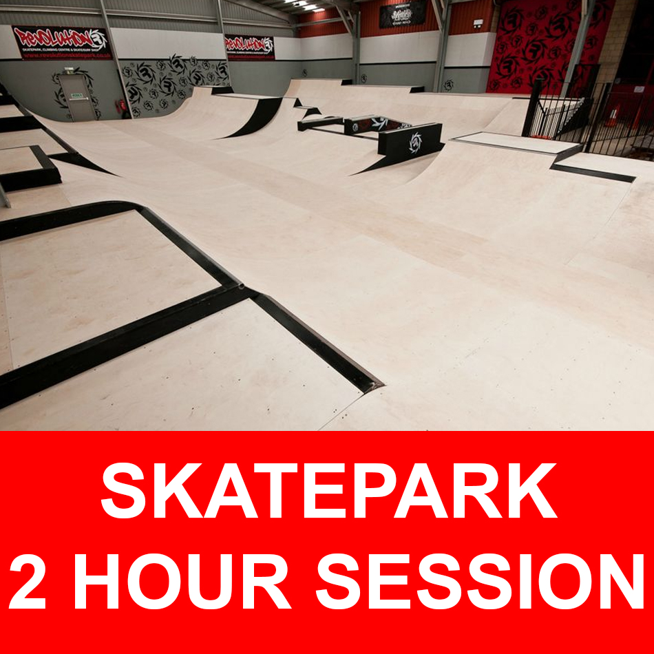 Skatepark 2 hour session