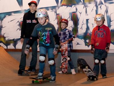 Skateboard lessons 1