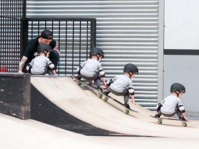 Skateboard Carousel 6