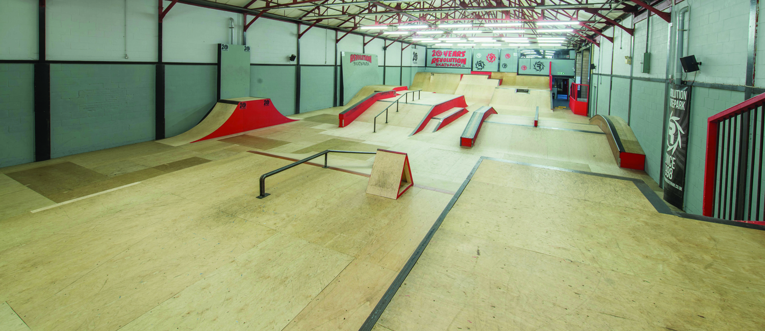 8ff61e95 Whats here - Everything we have at Revolution Skatepark