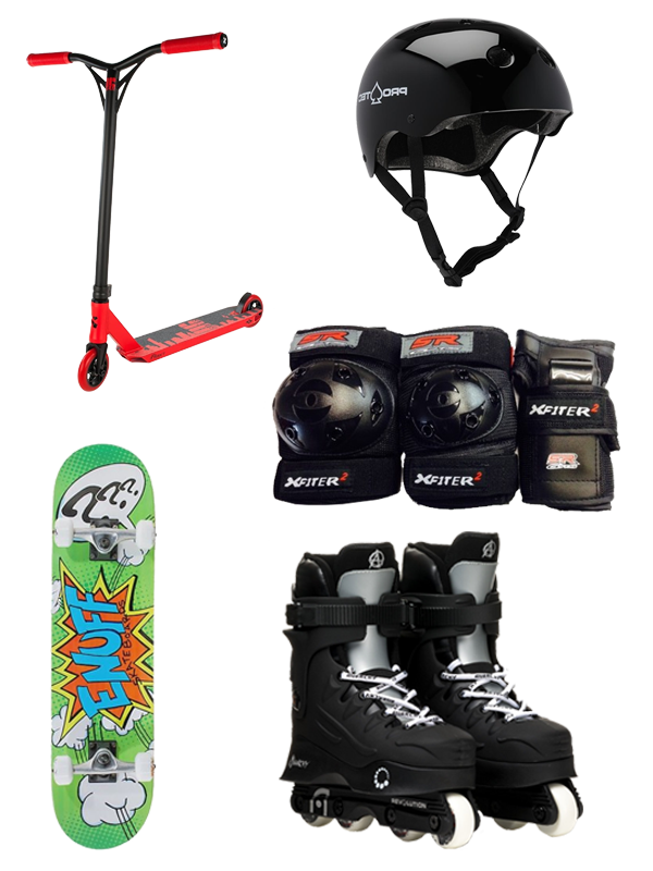 Hire equipment